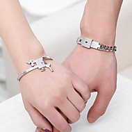 Couples' Fashion Bracelet Stainless Steel