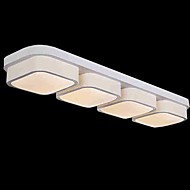 6W Modern/Contemporary LED Metal Flush Mount Living Room