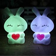 coway Liebe mi Kaninchen bunten LED-Nachtlicht-Lampe