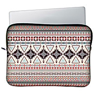 """Huado® 13""""15""""H65887 Bohemian Geometric Shapes Pattern Laptop Case"""