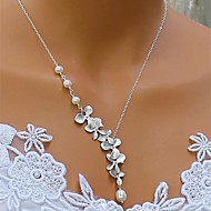 Women's Pearl/Alloy Necklace Anniversary/Birthday/Gift/Party/Special Occasion/Office & Career/Outdoor Pearl