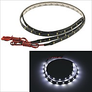 Carking™ 3528-30SMD-60CM Waterproof Car Decorative Lamp Strip-Black(2PCS)