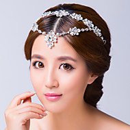 Women's Alloy Cubic Zirconia Headpiece-Wedding Special Occasion Head Chain