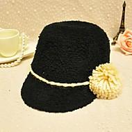 Women Cashmere Ivy Cap , Casual Winter