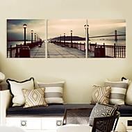 Canvas Art Set Paisagem na Ponte dos 3