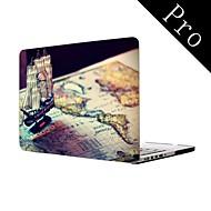 """projeto de navio pirata de corpo inteiro caixa de plástico protetora para MacBook Pro 13 """"/ 15"""" (não-retina)"""