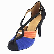 Customizable Women's Dance Shoes Latin Suede Customized Heel Other