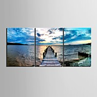 Stretched Canvas Art The Coast Decorative Painting Set of 3