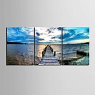 Keilrahmen bist der Küste dekorative Malerei Set von 3