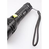 תאורה פנס LED / פנסי יד LED 2400 Lumens 5 מצב T6 XM-L2 קריס 18650 עמיד למיםמחנאות/צעידות/טיולי מערות / שימוש יומיומי / צלילה/ שייט / ציד