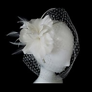 Dame Fjær Headpiece Bryllup/Spesiell Leilighet Fuglebur Slør Bryllup/Spesiell Leilighet