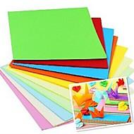 100 шт аромат papercranes оригами материалы 7 * 7 см (8color / пакет случайный цвет)
