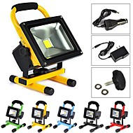 20 W 1 High Power LED 2000 LM Cool White Rechargeable Flood Lights AC 100-240 V