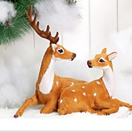 Natal xmas comemorar decoração presente casais enfeites de veado