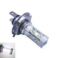 h4 Cree ledx12 60waty 6500 -7000k bílé světlo LED žárovka pro auta (12-24V, 1ks)