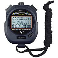 60 Erinnerungen 1 / 100s 3 Zeile 23 stelligen 10h Countdown-Zeit& Kalender digitale Stoppuhr für Sport Sprung pc3860
