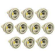 Spot Gradable Blanc Chaud / Blanc Froid 10 pièces MR16 GU5.3 3 W 1 COB 270-300 LM DC 12 V