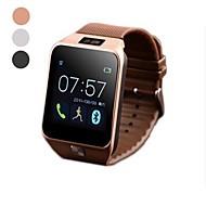 v8 1,54 '' touch screen slim bluetooth 4.0 horloge telefoon ondersteunt ondersteunt 2.0MP camera en enkele sim Bluetooth-functie