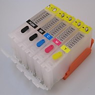 pg-550pgbk CLI-551bk 551c 551m 551y refill blekkpatron for canon ip7250 / mx925 mg5450 / mg5550 / mg6450 skriver 5 farge