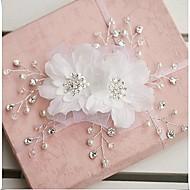 fleur de la main pur coiffes couronne strass mariée (plus de couleurs)