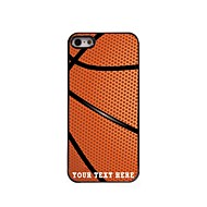 Personalized Phone Case - Basketball Design Metal Case for iPhone 5/5S