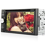 6.2Inch Universal 2 Din In-Dash Car DVD Player with Bluetooth,GPS,BT,RDS,DVB-T,Touch Screen RL-263WGDR02