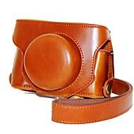 dengpin® retro odnímatelná PU kůže nabíjení styl pouzdro na fotoaparát s popruhem přes rameno pro společnosti Fujifilm X30