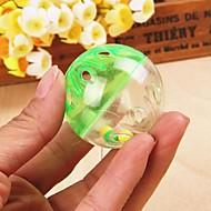 Katteleke Hundeleke Leker til kjæledyr Ball Klokke Plastikk