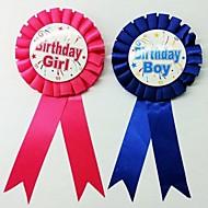 Partei Dekorationen Geburtstag Abzeichen