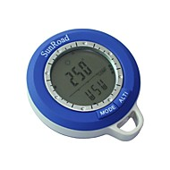 New 6 in 1 Digital Waterproof LCD Compasses Altimeter Barometer Thermometer Clock  Fishing
