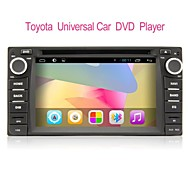 Android 4.2 6.2-inch 2 Din TFT Screen In-Dash Car DVD Player For Toyota with BT,Navigation GPS,iPod,RDS,TV