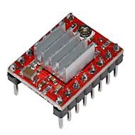 módulo a4988 motorista motor de passo para impressão 3d com dissipador de calor