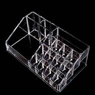Transparent Crystal Combination Slot Cosmetic Storage Box