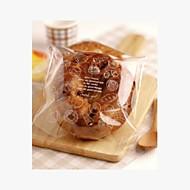 Bread Pattern Cookies Bag Set Of 10