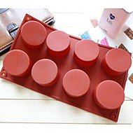 Cylinder Shape Cake Mold Ice Jelly Chocolate Mold