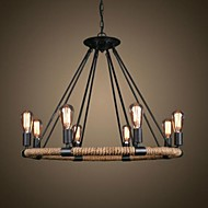 40W Chandelier ,  Traditional/Classic / Rustic/Lodge / Vintage / Retro / Country Painting Feature for Candle Style MetalLiving Room /