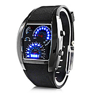 Regalo personalizzato Per uomo Guarda , Digitale / LED Quarzo Guarda With Lega Materiale caso Gomma Banda Orologio sportivoAcqua