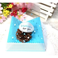 50pcs Blue Especially For You OPP Self Adhesive Cookie Bakery Candy Biscuit Jewelry Gift Plastic Packaging Bag