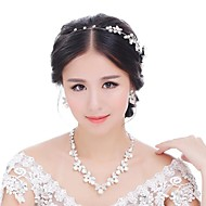 Women's Alloy Jewelry Set Pearl