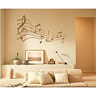 Wall Stickers Wall Decals,  Contemporary Note PVC Wall Stickers