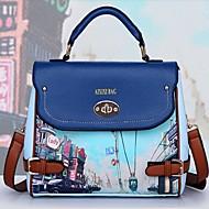 Xiuyi Frauenblumendruck-Handtasche