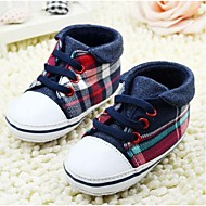 Boy's Flats Spring / Fall / Winter First Walkers Canvas Casual Flat Heel Others Blue