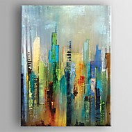 Hand-Painted AbstractModern / European Style One Panel Canvas Oil Painting For Home Decoration