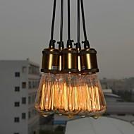 Lampe suspendue ,  Rustique Plaqué Fonctionnalité for Style mini MétalChambre à coucher Salle à manger Bureau/Bureau de maison chambre