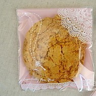 Lace Print Cookies Bag 10*10 Set Of 20