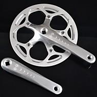 Mixim 52 tooths Fahrradkurbelgarnitur für Klappräder BMX-Rennräder
