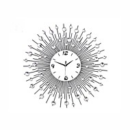 Modern Style Metal Mute Wall Clock(Without Batteries)