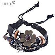 Women's Charm Bracelet Alloy/Leather