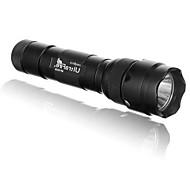 Black Light Flashlights LED 1 / 5 Mode 400/500/900/1000 Lumens Impact Resistant / Nonslip grip / Strike Bezel Cree XM-L U2 / Cree XM-L2 T6