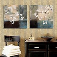 E-Home® gestreckt geführt Leinwanddruck Kunstzweige Blumen Flash-Effekt führte von 2